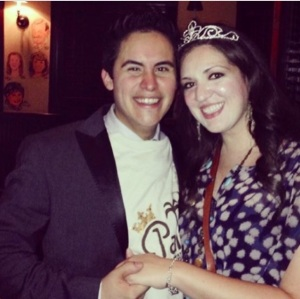San Antonio River Walk Royalty: Prince Robert Sanchez and Duchess Kristy Hernandez